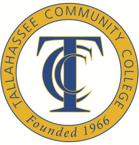 Logo of Tallahassee Community College, founded in 1966