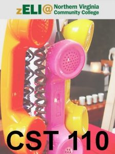 NOVA zELI logo displays above yellow, pink, and orange telephones dangling by the cord