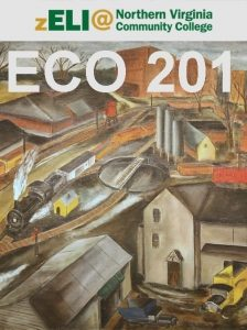 NOVA zELI logo displays over ECO 201 and painting of a pastoral railroad industrial scene