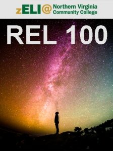 zELI logo and REL 100 text displays above a man staring at stars above