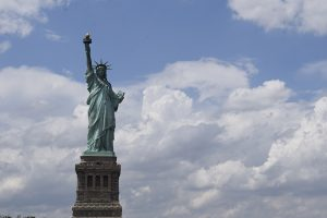 Photograph of the Statue of Liberty