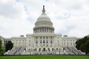 Photograph of the US Capitol Building