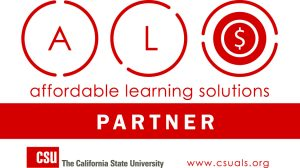 California State University Affordable Learning Solutions Partner Logo