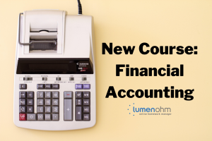 Accounting Calculator. New Course: Financial Accounting.